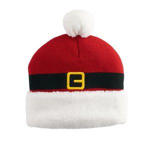 Other - NWT Christmas Holiday Santa Winter Beanie Hat Red